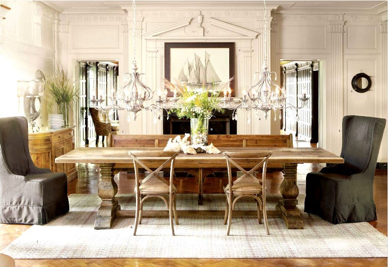 A Dining Room Design From The 2013 Arhaus Catalog. (Photo: Arhaus Catalog). Arhaus  Furniture Will Move Its Store ...