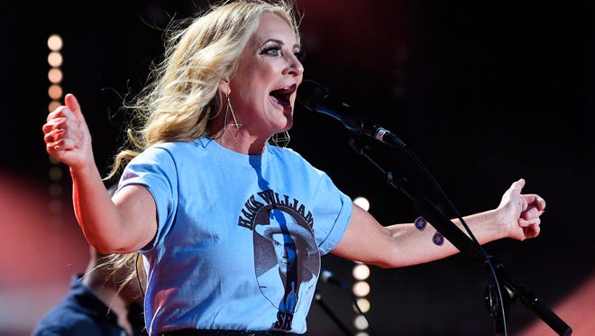 Lee Ann Womack performs at the 2018 CMA Music Fest at Nissan Stadium in Nashville in this June 9 file photo. She will perform Oct. 5 at the Bijou Theatre in Knoxville.