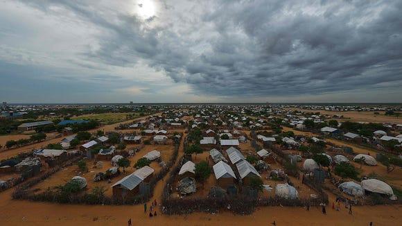 Dadaab refugee camp,Kenya