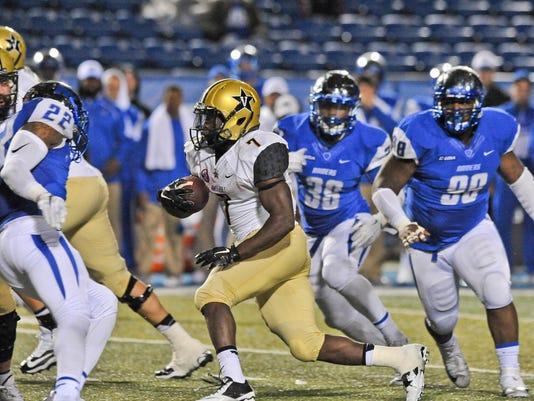 NCAA Football: Vanderbilt at Middle Tennessee