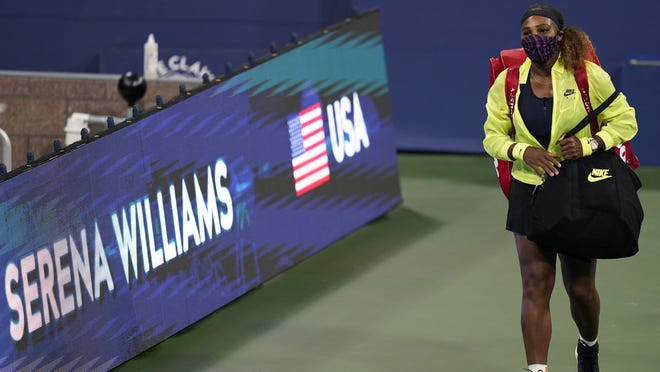 Serena Williams didn't think tennis would be played this year, but says she feels safe with the way the U.S. Open is set up to begin play on Monday.