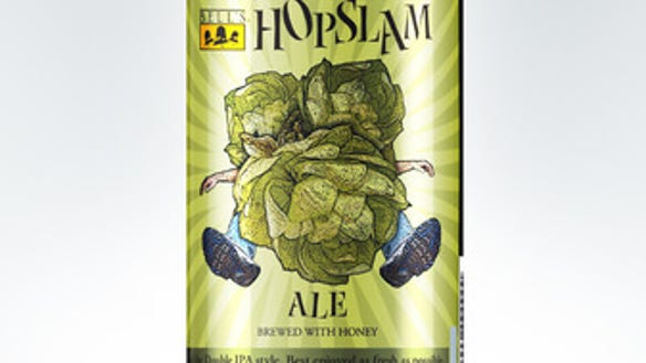 Bell's Hopslam was released this week.