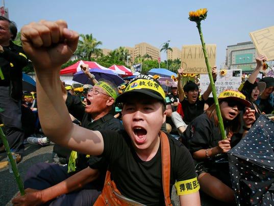 china trade protests