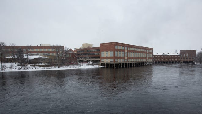 Verso's paper mill in Wisconsin Rapids, Tuesday, Jan. 26, 2015. Verso filed for bankruptcy to restructure its debt.