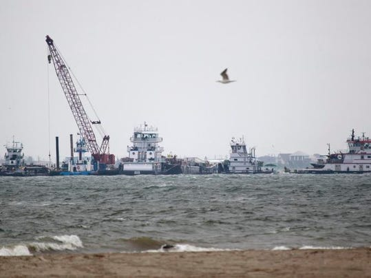 Texas Bay-Oil Spill