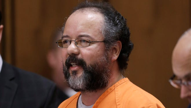 Ariel Castro speaks during his sentencing phase in Cleveland on Aug, 1.