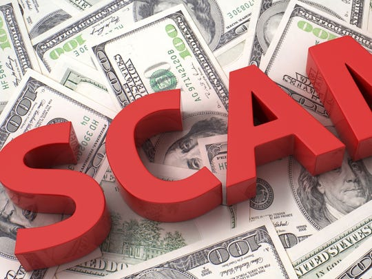 Scams abound during the holidays, when people are most