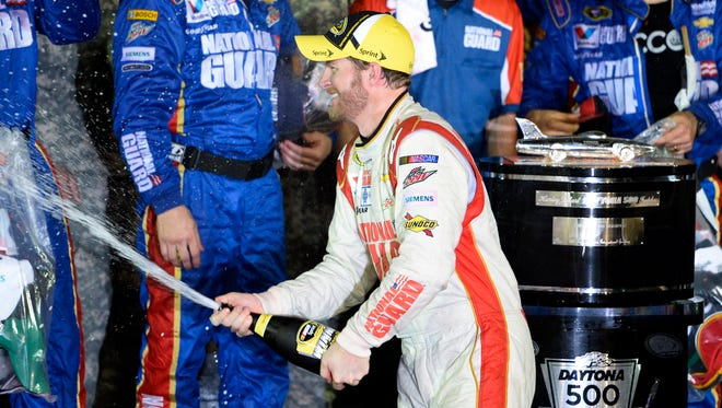 Dale Earnhardt Jr. says he wants to enjoy his second Daytona 500 victory. 'I don't remember too much about 2004 – it was such a blur,' he says.