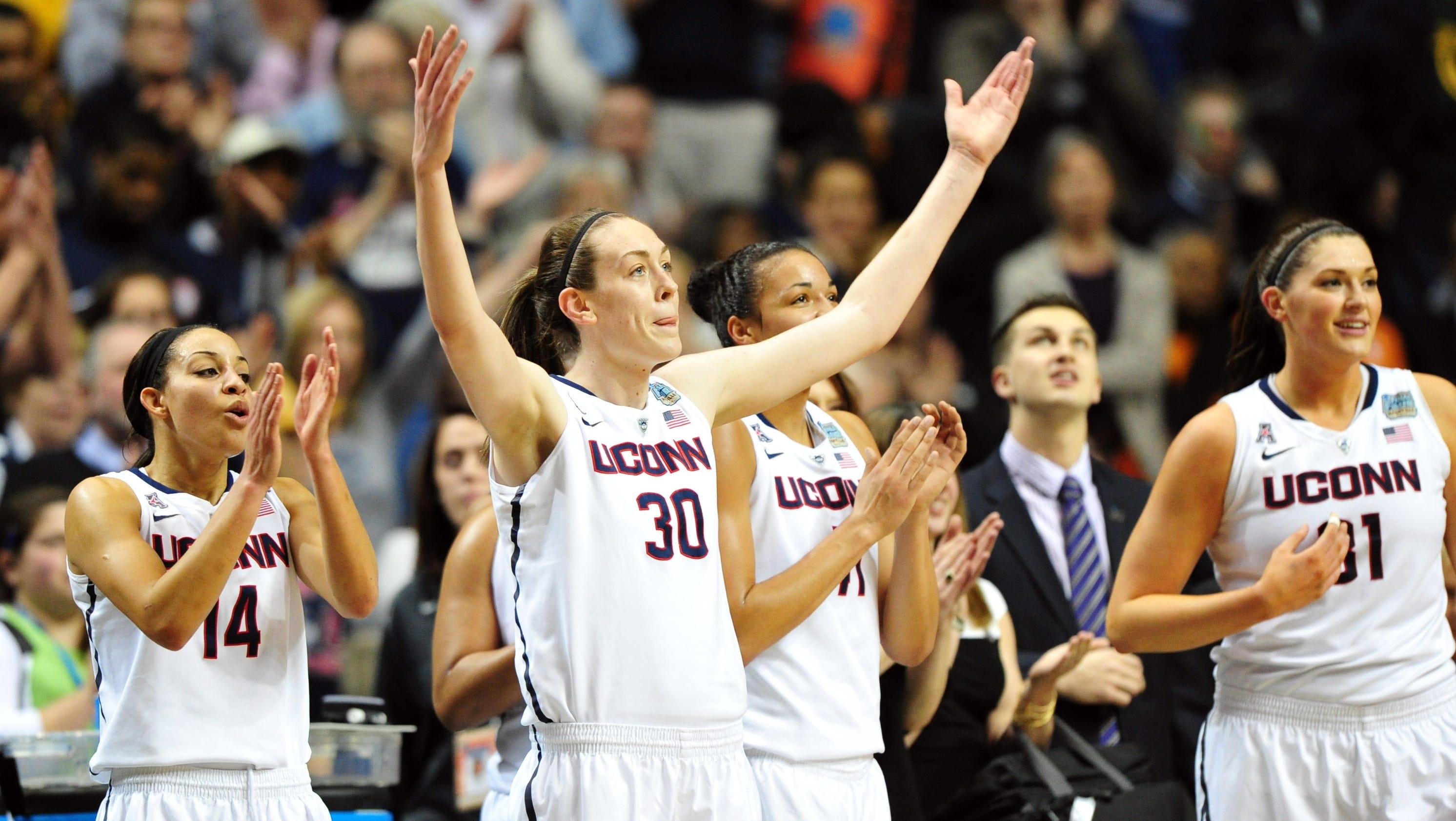 UConn, Notre Dame set up blockbuster women's title game
