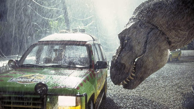 """The original """"Jurassic Park"""" will be playing Friday and Sunday at Waterford's Sunset Drive In."""