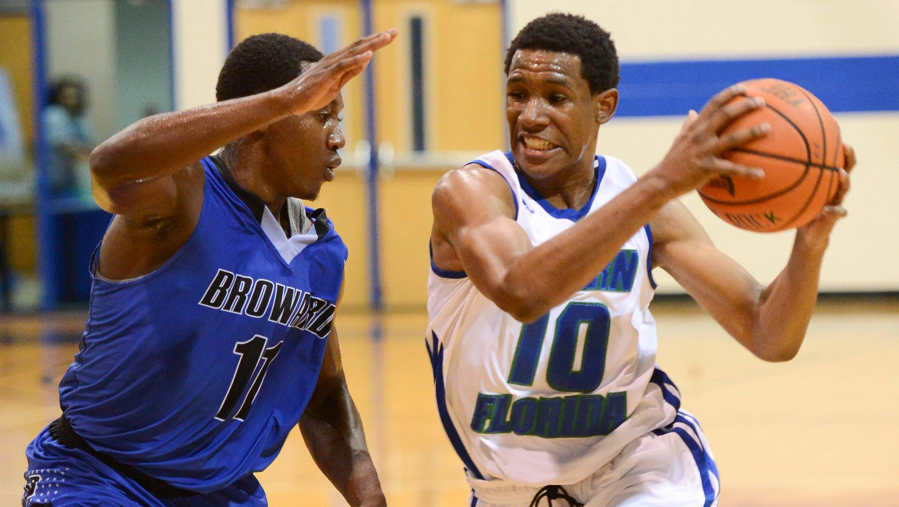 Photos: Broward at Eastern Florida mens basketball