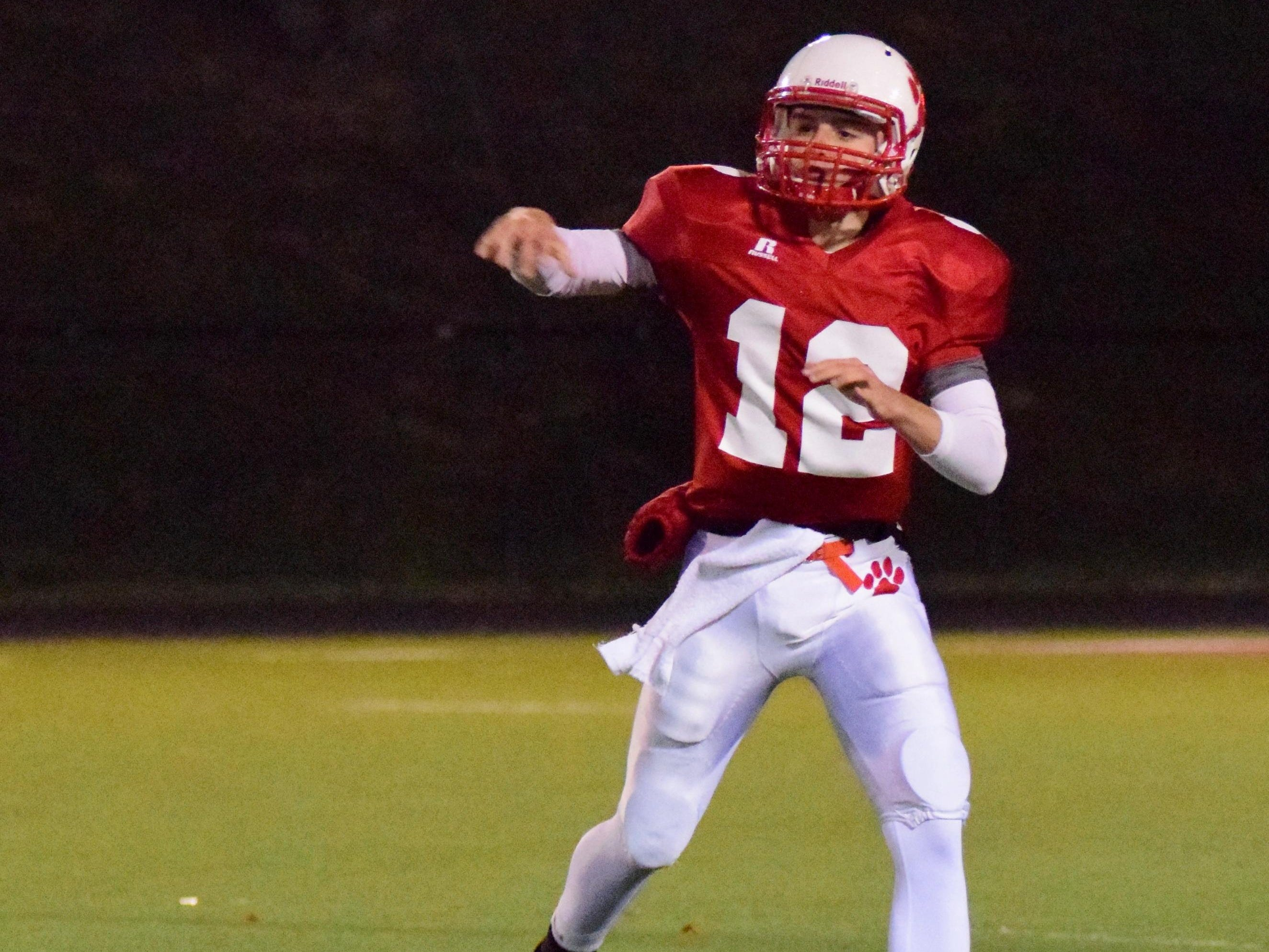 Kyle Fieger returns for his final season at QB for Beechwood.