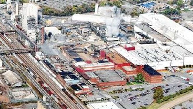 File photo of Domtar Corp.'s plant in Kingsport, Tennessee.