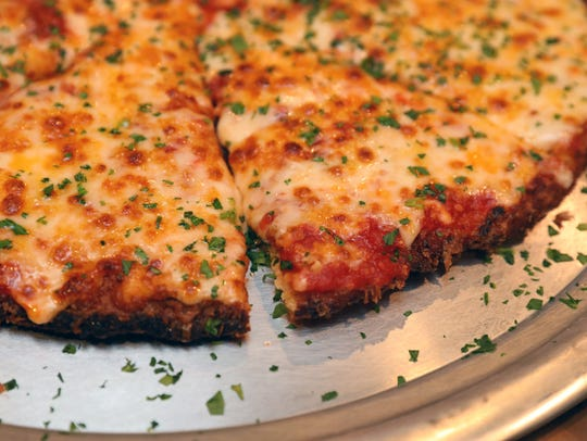 "The Chicken Parm Pizza, ""It's a Giant Chicken Cutlet"""
