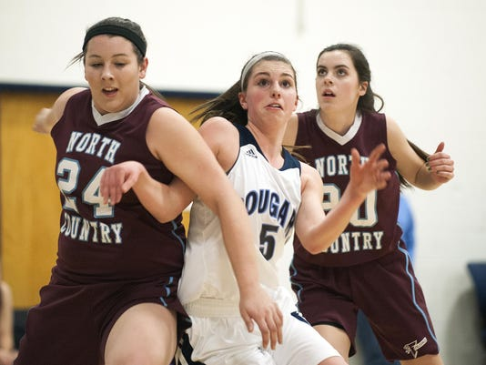 North Country vs. Mount Mansfield Girls Basketball 02/15/16