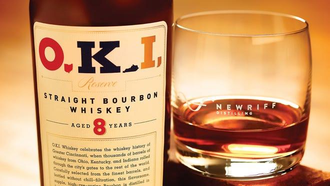 O.K.I Straight Bourbon Whiskey from New Riff.