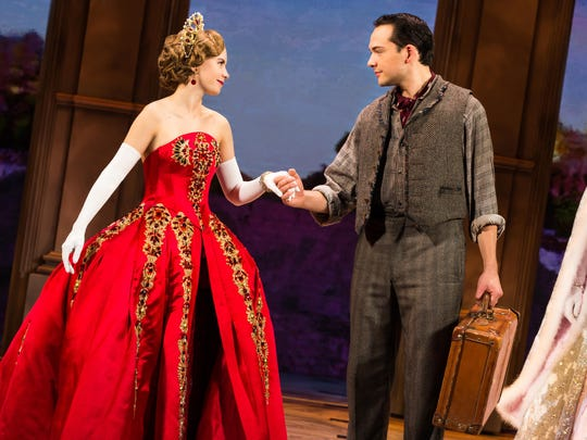 "The historical, romantic musical ""Anastasia"" comes"