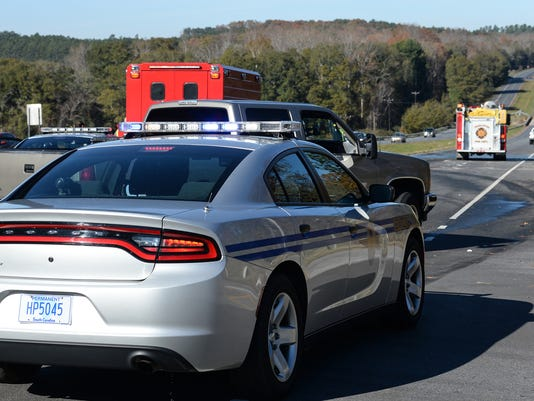 accident Clemson Boulevard