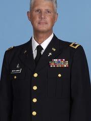 Chaplain Col. Ronald E. Martin-Minnich, retired, who