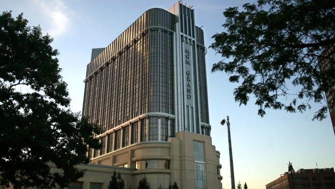 MGM Grand Detroit.
