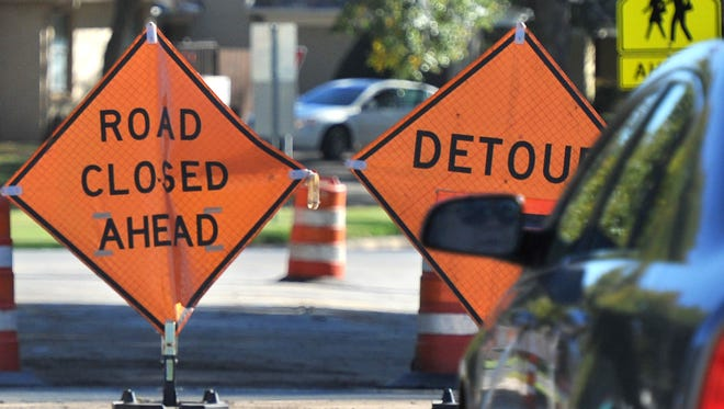 The city of Wichita Falls announced Monday that some lanes of traffic will be temporarily closed in the Kemp, Midwestern Parkway area for a scheduled water valve repair.