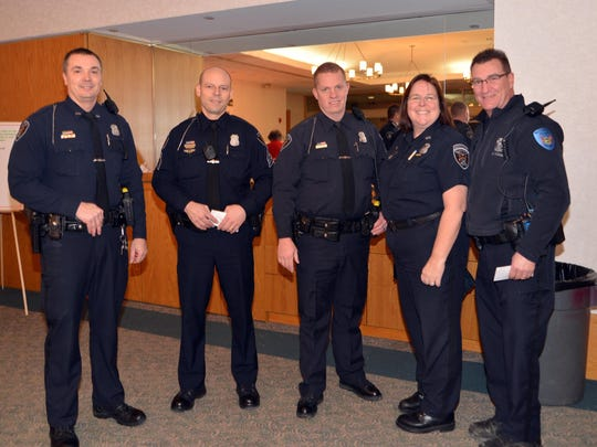 Bloomfield Township Police & Fire personnel were treated to a homemade spaghetti dinner at St. Hugo of the Hills.