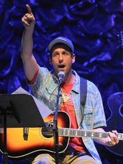 "Adam Sandler performs at the 2nd Annual ""Acoustic-4-A-Cure"""