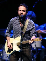 Taylor Goldsmith of Dawes, pictured performing at Monmouth