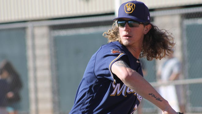 The Brewers promoted pitcher Josh Hader from Colorado Springs.