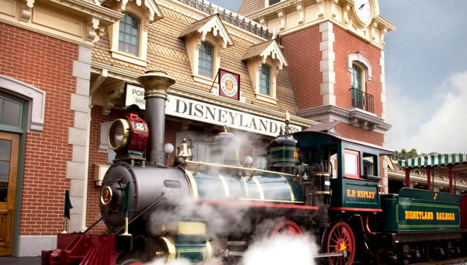 The Disneyland Railroad is one of the original attractions and is the perfect ride to rest up during your visit.