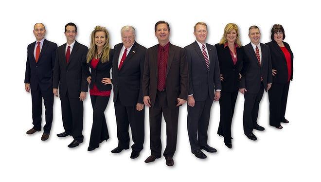 Nixa Board of Education: Brent Dunn, Josh Roberts, Brenda Rantz, Glenn Scott, Dr. Stephen Kleinsmith, Scott McDonald, Linda Daugherty, Mike Copeland, RaeLynn Anderson.