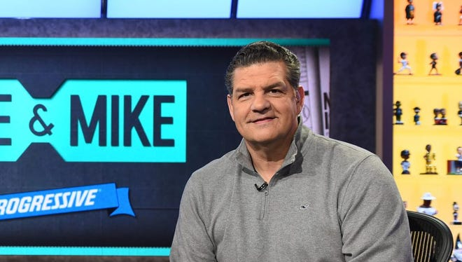 ESPN's Mike Golic will have a new show starting Monday.