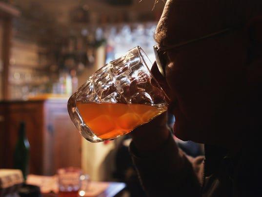 drinking elderly beer cider booze alcohol