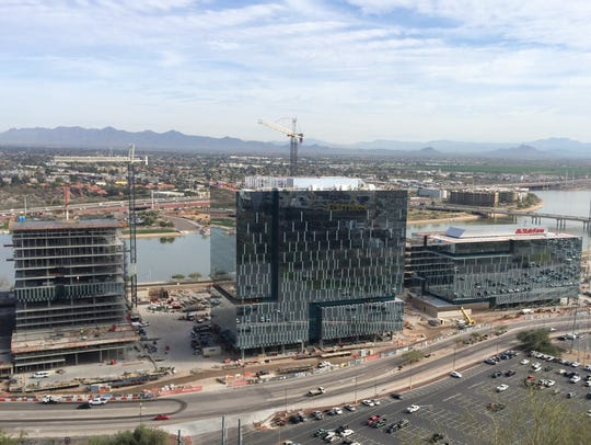 Tempe's public transit network played a major role