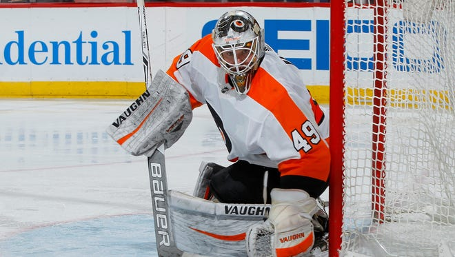 Alex Lyon's preparation has him feeling confident he can perform if the Flyers call on him in Brian Elliott's absence.