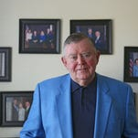 Pat Mullany, former FBI criminal profiler and former Indian Wells councilman, is photographed at his Indian Wells home.