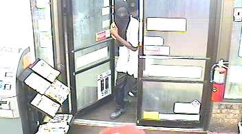 A suspect in the armed robbery of the Cracker Barrel, 301 Louisville Ave., Monroe, on Thursday morning.