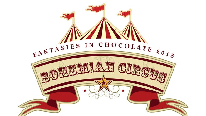 """""""Bohemian carnival"""" is the theme of this year's Fantasies in Chocolate, RGJ Media's annual fundraiser for its charitable foundation. Dress is black tie or costume for the gala, which typically attracts more than 2,000 revelers."""