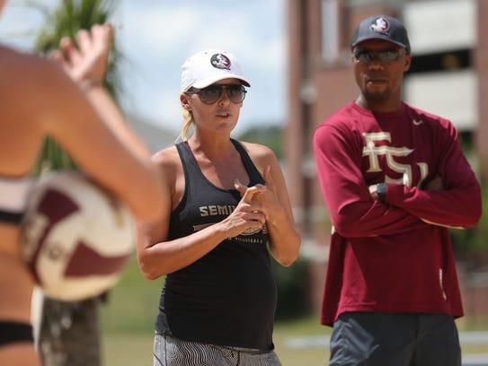 Florida State head coach Brooke Niles looks to lead