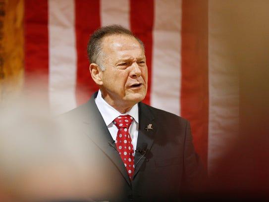 U.S. Senate candidate for Alabama Roy Moore