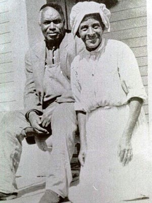 Alexander and Sally Turner, circa 1920