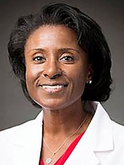 Dr. Charmaine Martin, new assistant dean for student affairs, at Texas Tech medical school in El Paso.