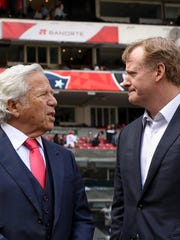 Patriots owner Robert Kraft will face discipline from the NFL and commissioner Roger Goodell.