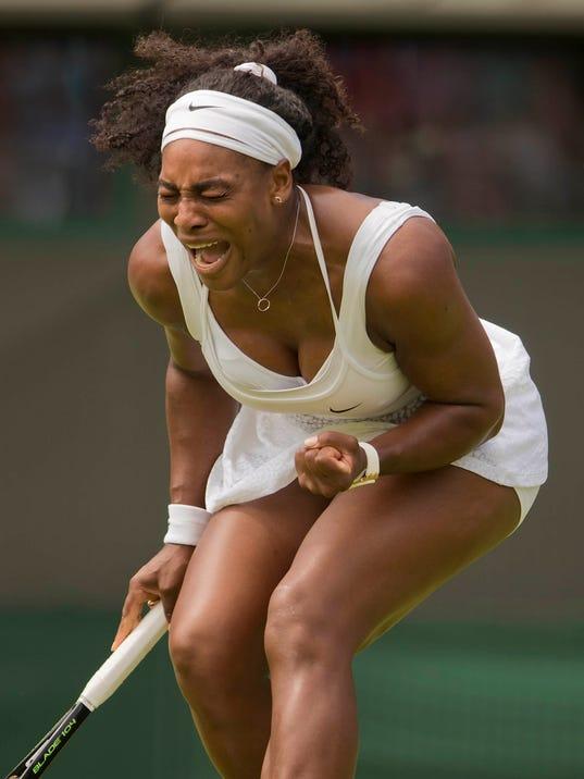 Serena williams a slow wet taste