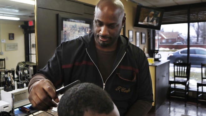 """Detroit barber Thomas Carter says there's nothing funny about blackface, calling it a """"huge form of disrespect"""" to African Americans."""