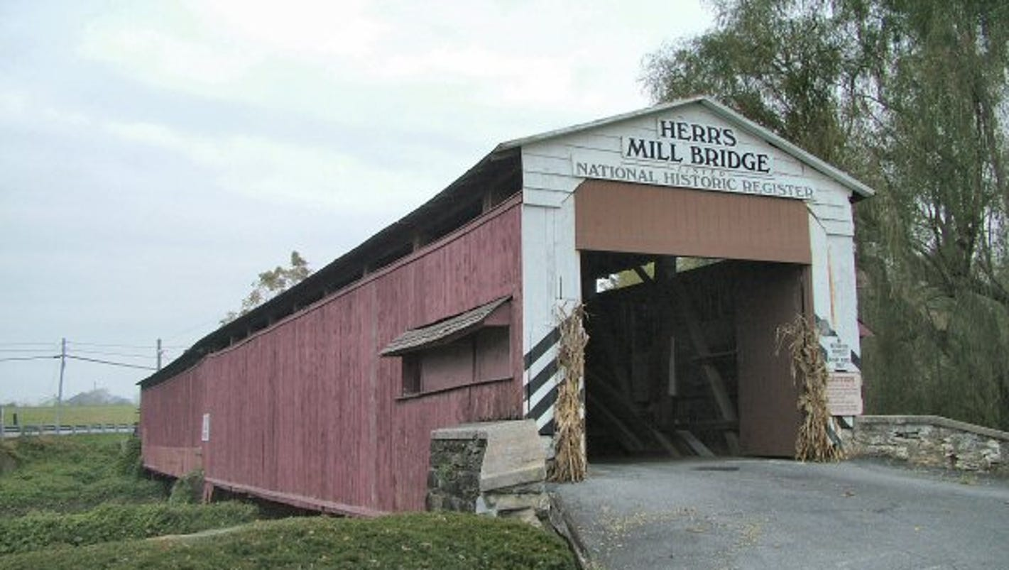 authentic covered bridge for sale in lancaster county