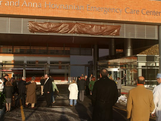 Crowds head to the ribbon-cutting at Ocean Medical