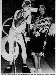 The Halloween celebration in Cape Coral on Oct. 31, 1961.