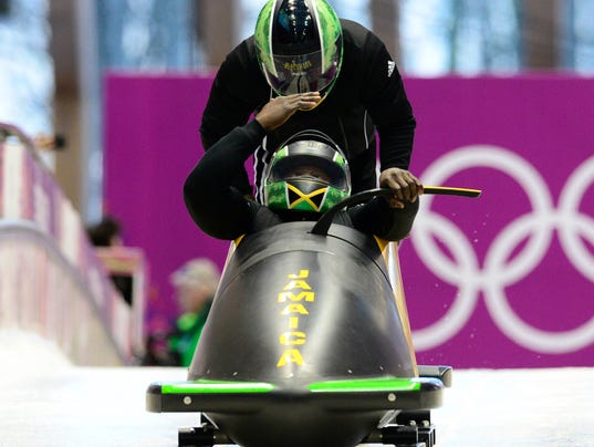 USP Olympics_ Bobsleigh-Two-man Official Training