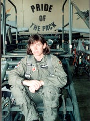 Arizona Rep. Martha McSally was the first female fighter pilot to fly a combat mission and command a fighter squadron.